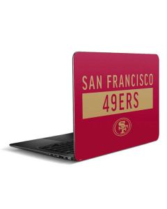 San Francisco 49ers Red Performance Series Zenbook UX305FA 13.3in Skin