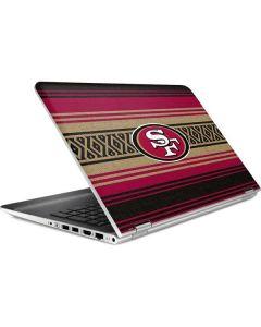 San Francisco 49ers Trailblazer HP Pavilion Skin