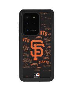 San Francisco Giants - Cap Logo Blast Galaxy S20 Ultra 5G Waterproof Case