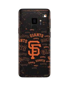 San Francisco Giants - Cap Logo Blast Galaxy S9 Skin