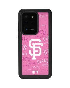 San Francisco Giants - Pink Cap Logo Blast Galaxy S20 Ultra 5G Waterproof Case