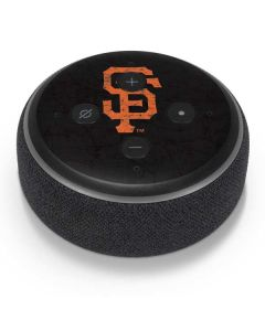 San Francisco Giants - Solid Distressed Amazon Echo Dot Skin