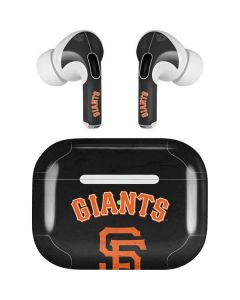 San Francisco Giants - Solid Distressed Apple AirPods Pro Skin