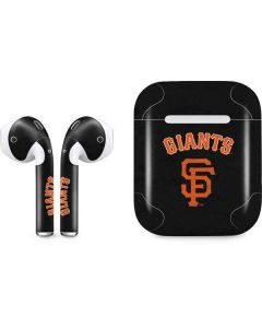 San Francisco Giants - Solid Distressed Apple AirPods Skin