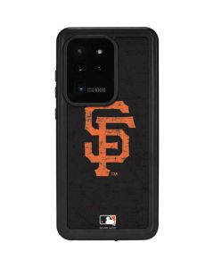 San Francisco Giants - Solid Distressed Galaxy S20 Ultra 5G Waterproof Case