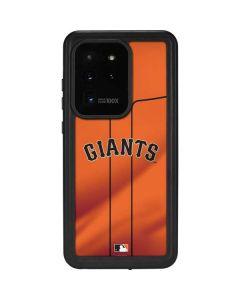 San Francisco Giants Alternate Home Jersey Galaxy S20 Ultra 5G Waterproof Case