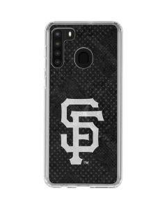 San Francisco Giants Dark Wash Galaxy A21 Clear Case