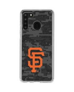 San Francisco Giants Digi Camo Galaxy A21 Clear Case