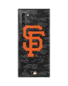 San Francisco Giants Digi Camo Galaxy Note 10 Skin
