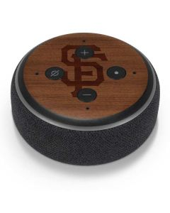 San Francisco Giants Engraved Amazon Echo Dot Skin