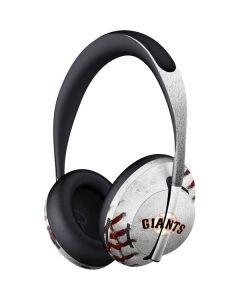 San Francisco Giants Game Ball Bose Noise Cancelling Headphones 700 Skin