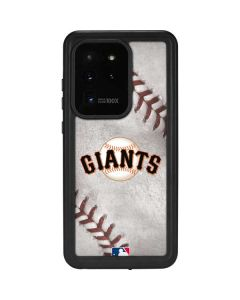 San Francisco Giants Game Ball Galaxy S20 Ultra 5G Waterproof Case