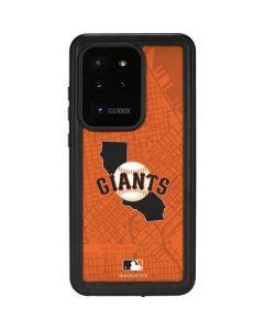 San Francisco Giants Home Turf Galaxy S20 Ultra 5G Waterproof Case