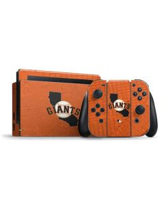 San Francisco Giants Home Turf Nintendo Switch Bundle Skin