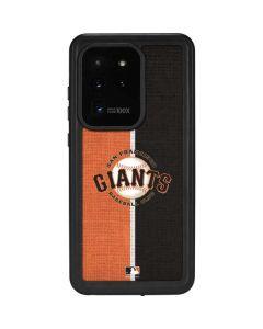 San Francisco Giants Split Galaxy S20 Ultra 5G Waterproof Case