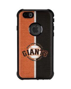 San Francisco Giants Split iPhone 6/6s Waterproof Case