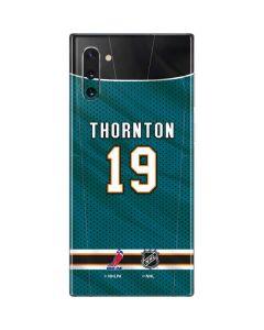 San Jose Sharks #19 Joe Thornton Galaxy Note 10 Skin