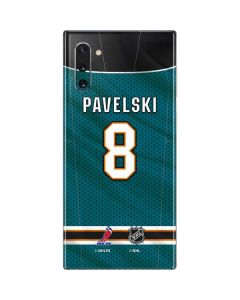 San Jose Sharks #8 Joe Pavelski Galaxy Note 10 Skin