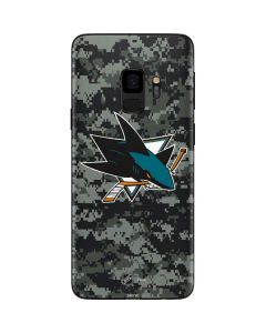 San Jose Sharks Camo Galaxy S9 Skin