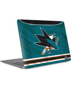 San Jose Sharks Home Jersey Apple MacBook Air Skin