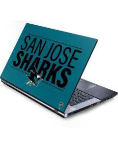 San Jose Sharks Lineup Generic Laptop Skin