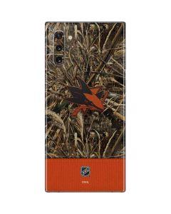 San Jose Sharks Realtree Max-5 Camo Galaxy Note 10 Skin