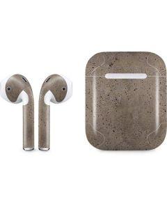 Sandstone Concrete Apple AirPods Skin