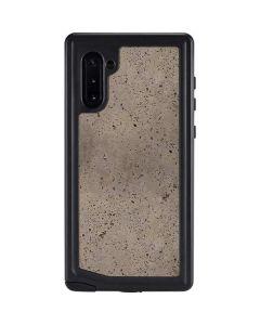Sandstone Concrete Galaxy Note 10 Waterproof Case