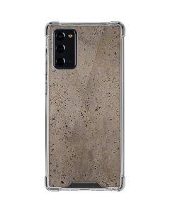 Sandstone Concrete Galaxy Note20 5G Clear Case