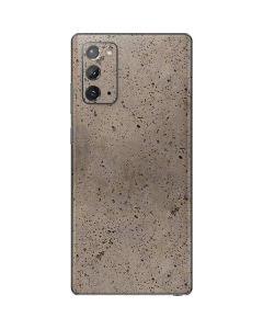 Sandstone Concrete Galaxy Note20 5G Skin