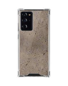 Sandstone Concrete Galaxy Note20 Ultra 5G Clear Case
