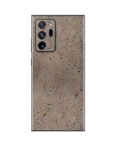 Sandstone Concrete Galaxy Note20 Ultra 5G Skin