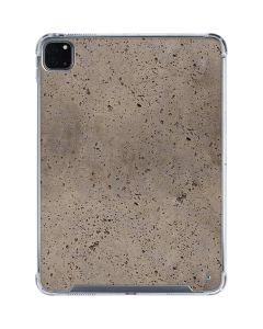Sandstone Concrete iPad Pro 11in (2020) Clear Case