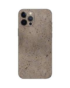 Sandstone Concrete iPhone 12 Pro Max Skin