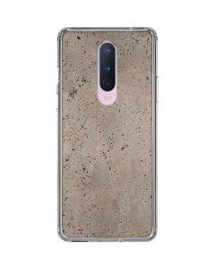 Sandstone Concrete OnePlus 8 Clear Case