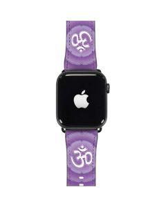 Sanskrit Purple Apple Watch Case