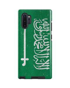 Saudi Arabia Flag Distressed Galaxy Note 10 Plus Pro Case