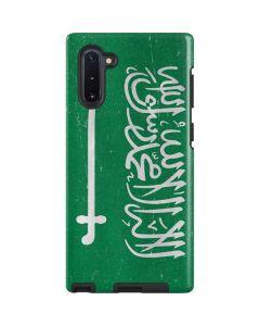 Saudi Arabia Flag Distressed Galaxy Note 10 Pro Case