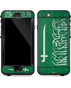 Saudi Arabia Flag Distressed LifeProof Nuud iPhone Skin