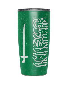 Saudi Arabia Flag Distressed Yeti 20oz Tumbler Skin