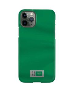 Saudi Arabia Soccer Flag iPhone 11 Pro Lite Case
