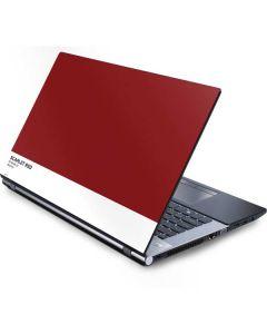 Scarlet Red Generic Laptop Skin