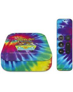Scooby-Doo Tie Dye Apple TV Skin
