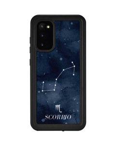 Scorpio Constellation Galaxy S20 Waterproof Case