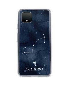 Scorpio Constellation Google Pixel 4 XL Clear Case