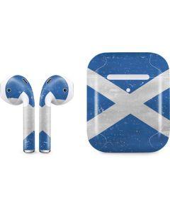 Scotland Flag Distressed Apple AirPods 2 Skin