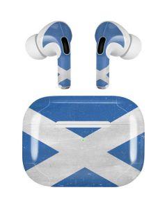 Scotland Flag Distressed Apple AirPods Pro Skin