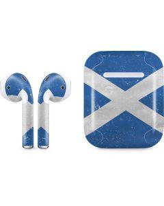Scotland Flag Distressed Apple AirPods Skin