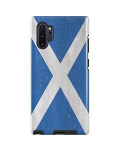 Scotland Flag Distressed Galaxy Note 10 Plus Pro Case