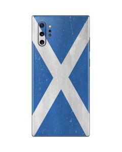 Scotland Flag Distressed Galaxy Note 10 Plus Skin